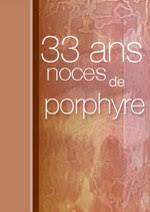 33 ans de mariage cartes noces de porphyre noces d ambre noces de rubis noces