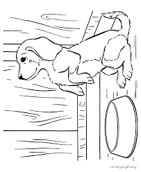 cute dog colouring pages funycoloring