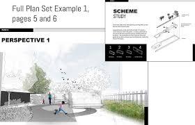full plan set designs illustrated