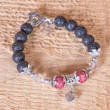 bracelet fire images Lava design iceland fire and ice bracelet 10mm lava beads jpg
