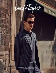 contemporary traveler mark cox dons smart styles for lord u0026 taylor