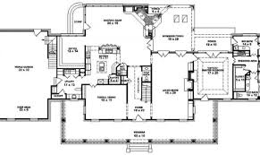 plantation floor plans 17 stunning plantation house floor plans architecture plans 21280