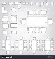 Floor Plan Flat by Set Simple 2d Flat Vector Icons Stock Vector 266822663 Shutterstock