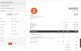 zoho invoice pricing features reviews u0026 comparison of