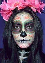 Dead Halloween Makeup by Halloween Makeup Calavera Sugar Skull Mexican Skull Dia