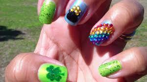 vianneycreates fun st patrick u0027s day nail design ft tmart com
