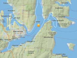 us geological earthquake map 3 4 magnitude earthquake shakes puget sound region kuow and