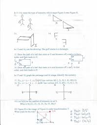 Geometry Dilations Worksheet Geometry Common Core Style Chapter 6 Test Day 74