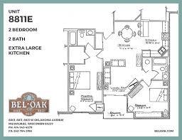 Oklahoma Floor Plans Floor Plans Bel Oak Apartments