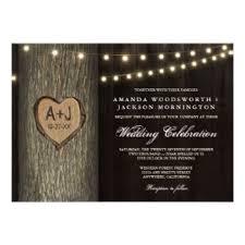 Tree Wedding Invitations Oak Tree Wedding Invitations U0026 Announcements Zazzle