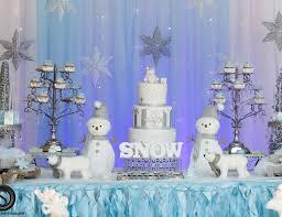 Winter Wonderland Baby Shower Winter Wonderland Theme Baby Shower