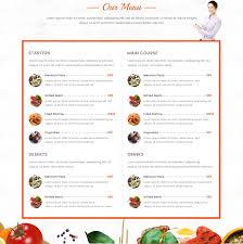 blackolive restaurant one page html html restaurant website