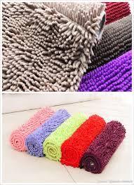 Crochet Bathroom Rug by Wholesales Chenille Carpet Bedroom Bathroom Kitchen Floor Mat Soft