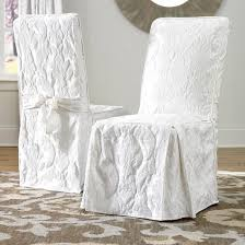 Damask Dining Chair Matelasse Damask Dining Room Chair Slipcover Sure Fit Target