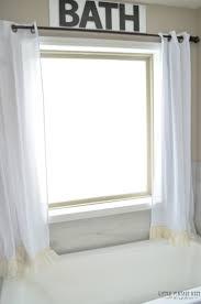no sew farmhouse curtains little vintage nest