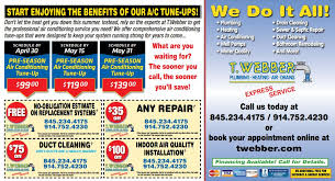 Tune Up Estimate by Get Your Ac Ready For Summer With Our Pre Season Ac Tune Up Special