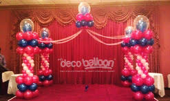 balloon dance floors balloon decorations ny nj