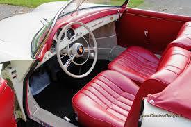 pink porsche interior porsche 356a speedster 1600 t1 1957 details