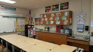Classroom Cabinets Before And After Once Does It Organizing