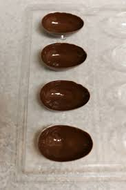 hollow chocolate egg mold thirsty for tea chocolate eggs