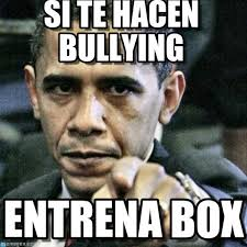 No Al Bullying Memes - si te hacen bullying pissed off obama meme en memegen