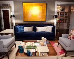 Montauk Sofa New York From U0027sex And The City 2 U0027 Carrie And Big U0027s Living Room Includes A