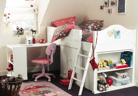 Girls Bed With Desk by Girls Bedrooms With Loft Bed Fresh Bedrooms Decor Ideas