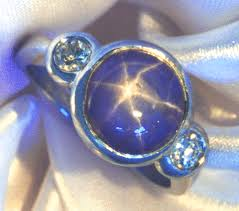 rings star sapphire images Star sapphire ring with diamonds bijoux extraordinaire gif