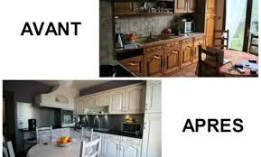 renovation cuisine rustique cuisine avant apres affordable renovation cuisine rustique avant
