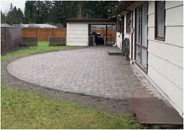 backyards splendid 6 backyard pavers 60 paver patio ideas