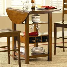 island dining table base with wine bottle storage and astorage