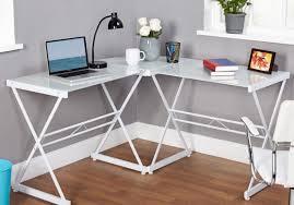 Glass Top Desk Office Depot Favored Figure Oak L Shaped Desk Ideal Modern Standing Desk