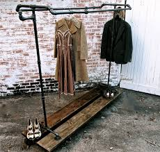 Decorative Metal Garment Floor Rack by Industrial Garment Rack Product Displays Pinterest Garment
