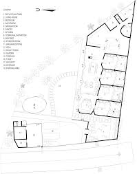 budi pradono architects u0027 bamboo house mimics the shapes of nearby