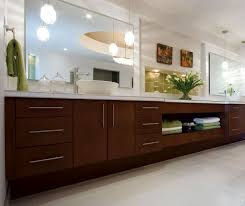 Bathroom Cabinets Modern by Contemporary Cherry Bathroom Cabinets Kitchen Craft Cabinetry