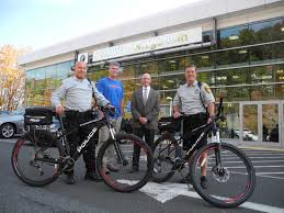 bmw bicycle police get bikes donated by bmw of ridgefield the ridgefield press