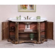 Bathroom Vanities With Marble Tops Legion Furniture Wh3468 68 Solid Wood Sink Vanity With Marble Top
