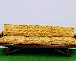 mid century sofa etsy