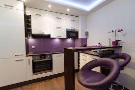 cuisine blanche mur aubergine mur aubergine collection avec cuisine prune mlc design deco de