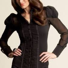 bebe blouses 25 bebe tops bebe chiffon blouse from s