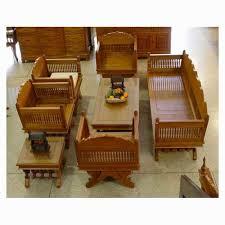 Wooden Living Room Furniture Living Room Stylish Clic Furniture Sofa Set All Golden Solid Wood