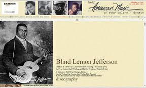 Blind Lemon Jefferson Matchbox Blues Blind Lemon Jefferson Blues Facts