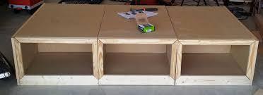 bed storage bench diy bench decoration