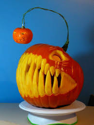 clever pumpkin 21 clever pumpkin carving ideas pumpkin carving creepy and teeth