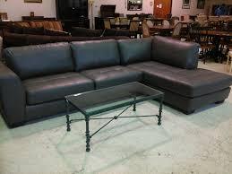 Blue Leather Sectional Sofa Slate Blue Leather Sofa Centerfieldbar Com