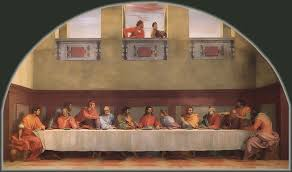 last supper of san salvi florence the last supper of san salvi by andrea del sarto