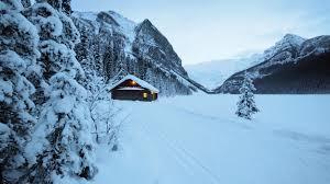 cabin cottage landscape snow winter jpg wallpaper of loversiq