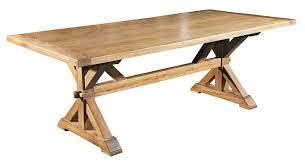 Italian Country Trestle Dining Table British Home Emporium - Trestle kitchen table