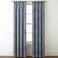 Paisley Curtains Jcpenney Home Paisley Curtains Drapes For Window Jcpenney