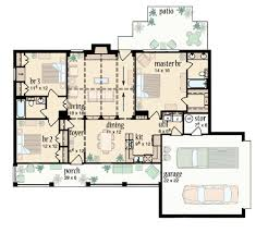 ranch floor plans with split bedrooms one split bedroom house plans house design plans